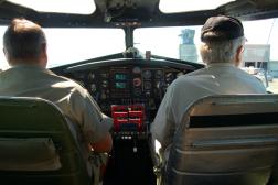 Cockpit Before TO Aluminum Overcast