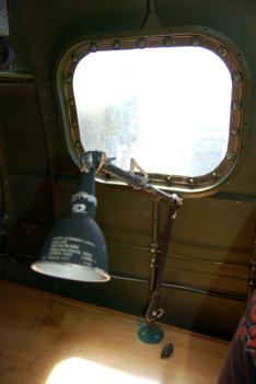 Radioman's Desk Aluminum Overcast