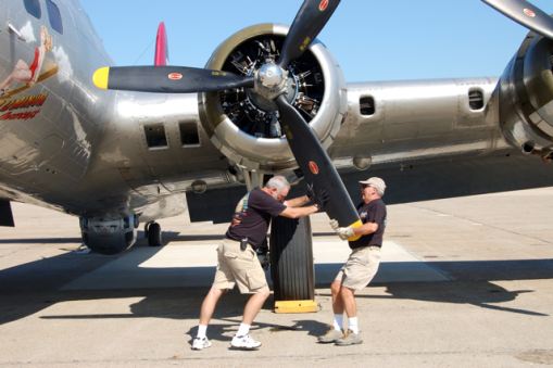 Turning Over 2 Aluminum Overcast