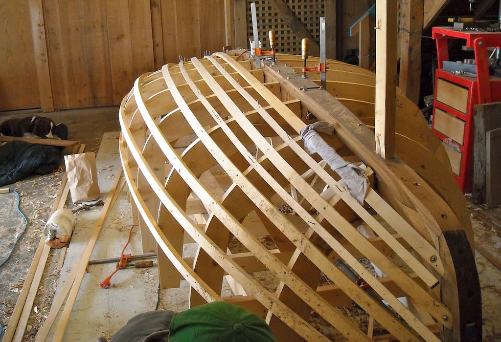 Catboat Molds & Backbone 1
