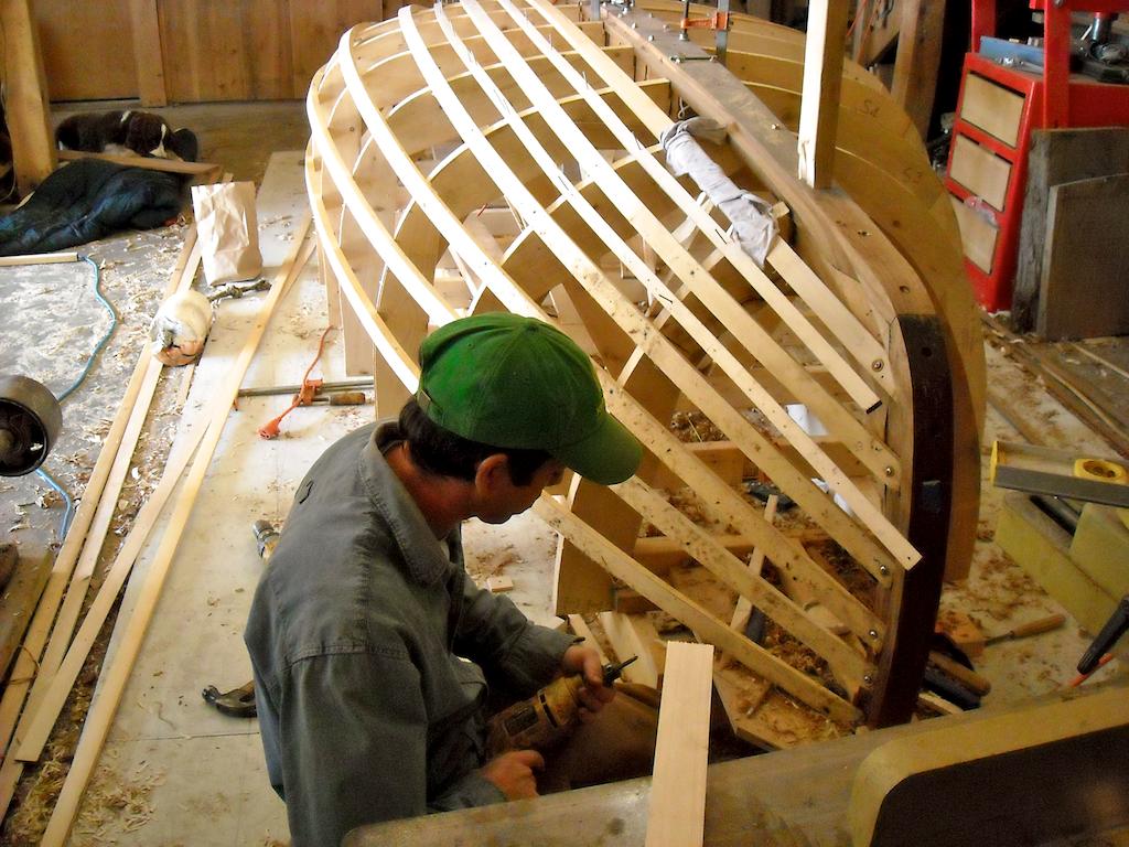Catboat Molds & Backbone 2