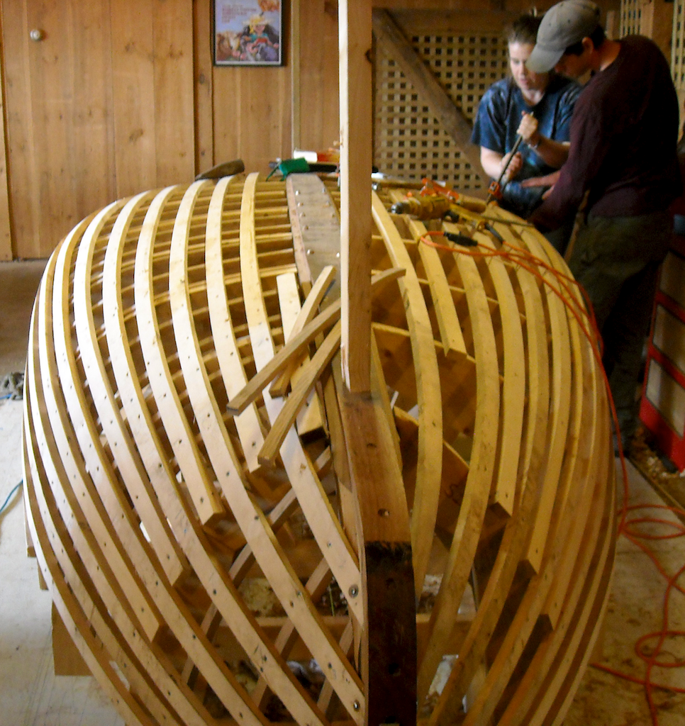 Catboat Molds & Backbone 8