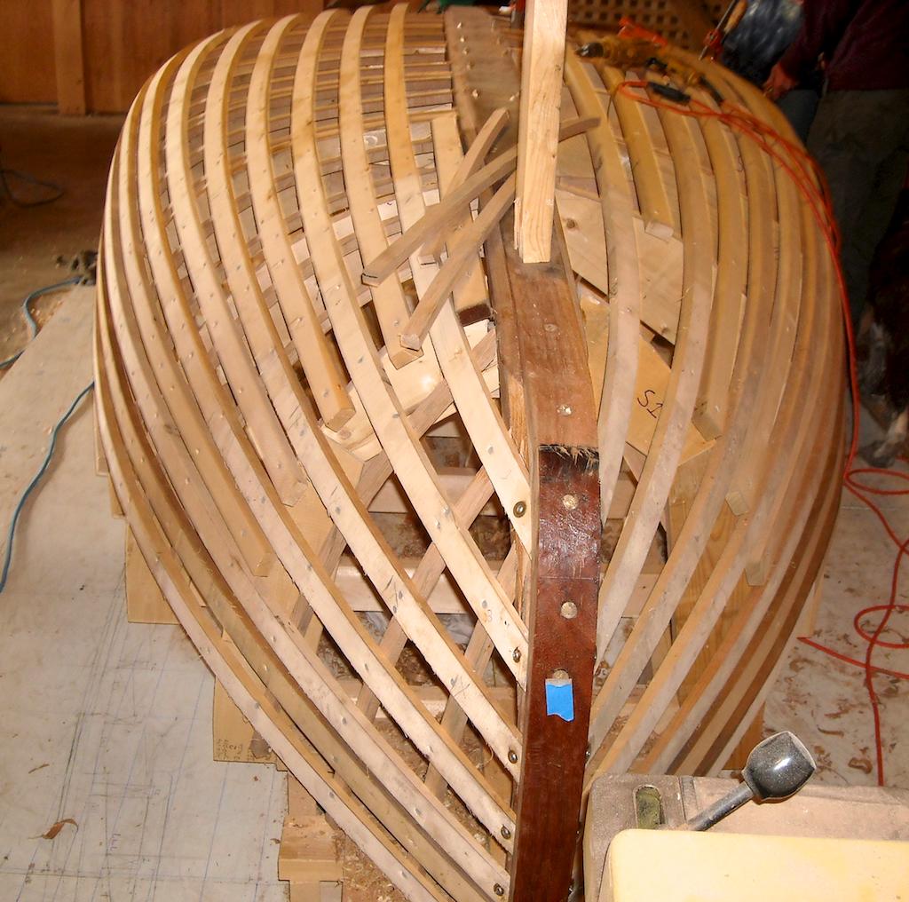 Catboat Molds & Backbone 9