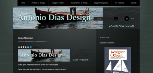 Antonio Dias Design Carpe