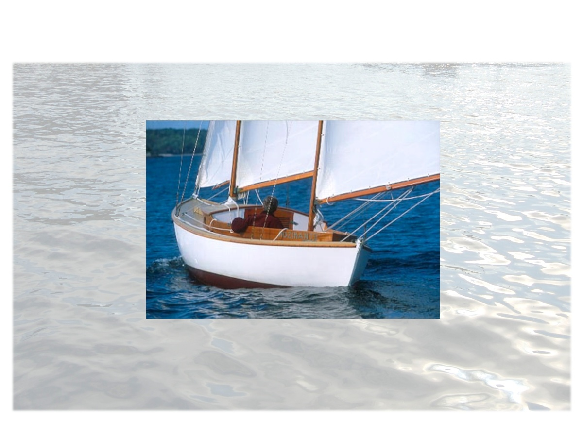 """Boats I'd Like to design: Canoe Yawl"" on Antonio Dias Design"