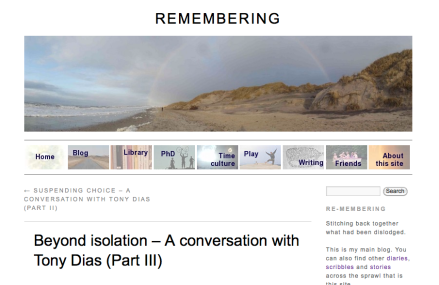 Remembering, Beyond Isolation