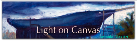 Light on Canvas Banner