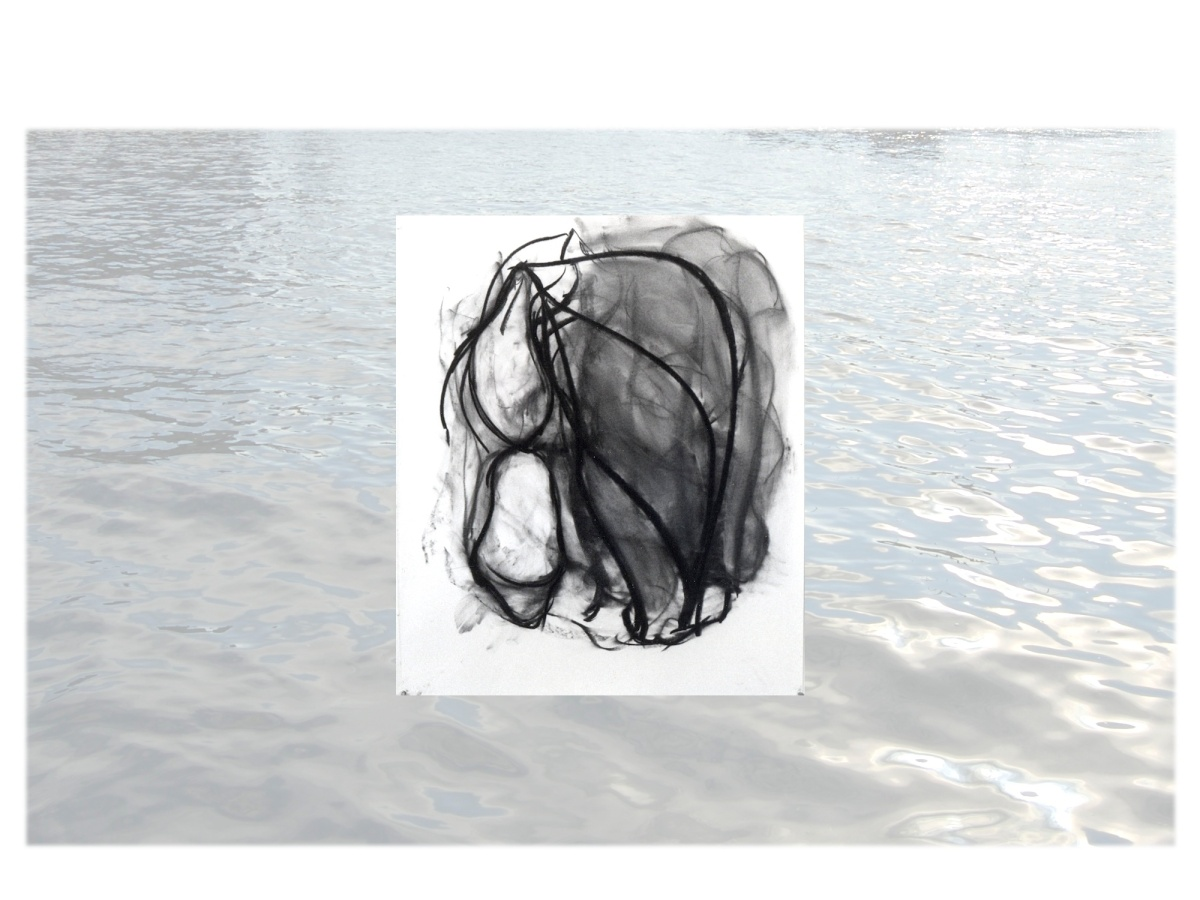 Charcoal drawing, Dance