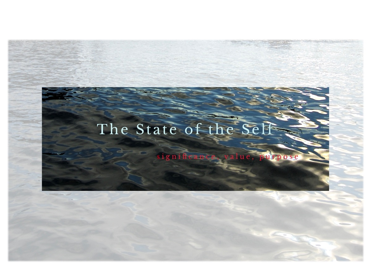 The State of the Self